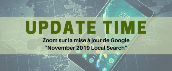 November 2019 Local Search - Update Google Referenceur