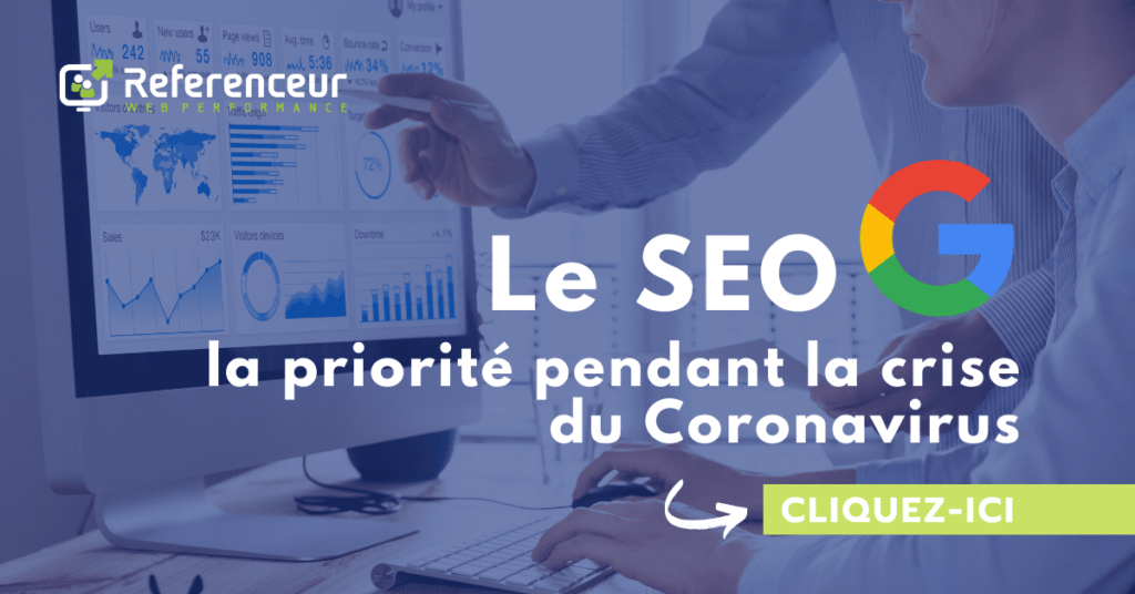 Le SEO ? Le premier reflex Marketing lors de période COVID-19